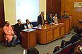 Dignitaries - Valedictory Session - Bengali Wikipedia 10th Anniversary Celebration - Jadavpur University - Kolkata 2015-01-10 3539.JPG