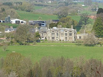 """Dingestow Court - """"one of the county's major houses"""""""