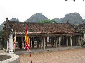 Early Lê dynasty - Temple of Đình Yên Thành, Hoa Lư, Ninh Bình.