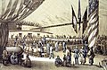 Dinner for Japanese Commissioners on board USS Powhatan 1853-1854 (36824899314).jpg