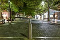 Dionysiou Areopagitou Pedestrian Street at night.jpg