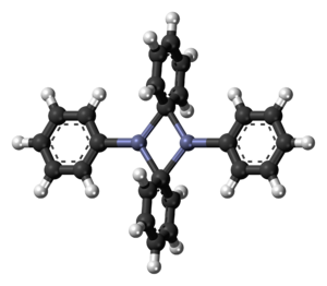 Diphenylzinc - The dimeric solid state form of diphenylzinc.