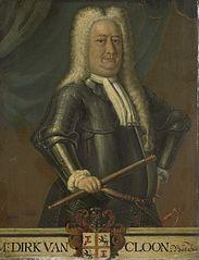 Dirk van Cloon (1684-1735). Gouverneur-generaal (1730-35)