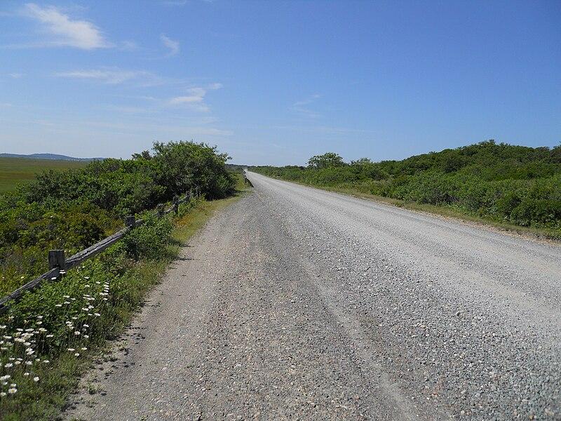 File:Dirt road north.JPG