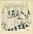 Disegno per copertina di libretto, disegno di Peter Hoffer per Il matrimonio segreto (1954) - Archivio Storico Ricordi ICON012362.jpg