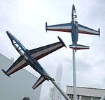 Displays at the Musee de l'Air et de l'Espace, Le Bourget, Paris, France, September 2008 (73).JPG