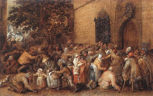 Distribution of Loaves to the Poor David Vinckbooms
