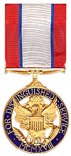 Distinguished Service Medal (U.S. Army) A military decoration of the United States Army