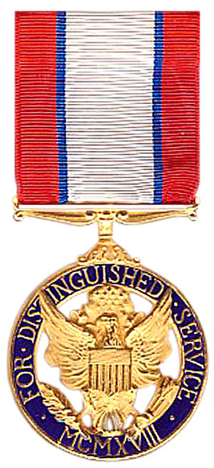 Hugh S. Johnson - The Army Distinguished Service Medal, awarded to Brig. Gen. Hugh S. Johnson