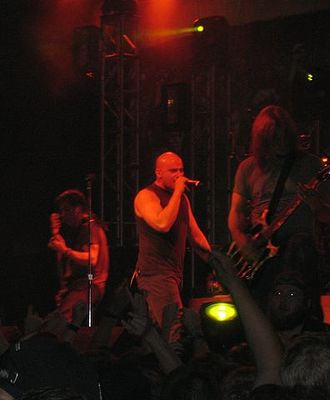 Disturbed (band) - Disturbed performing in 2005