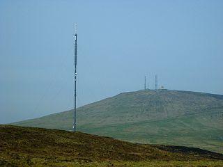 Divis Hill in Northern Ireland