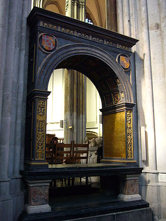George van Egmond - Cenotaph memorial to George van Egmont in St. Martin's Cathedral, Utrecht