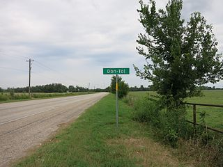 Don-Tol, Texas Unincorporated community in Texas, United States