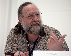 INTERCAL - Don Woods, one of the authors of INTERCAL, in 2010