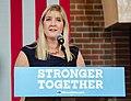 Donna Soucy at Clinton Kaine rally Aug 2016.jpg