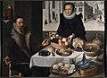 Double Portrait of an Elderly Couple (Lucas van Valckenborch & Georg Flegel) - Nationalmuseum - 23885FXD.jpg