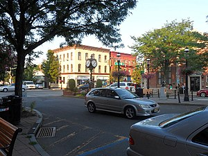 Morris County, New Jersey - Image: Downtown Madison NJ