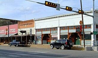 Santa Anna, Texas - Downtown Santa Anna