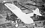 Doyle O-2 Oriole in flight Aero Digest February 1929.jpg