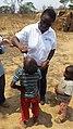 Dr. Aissata Diaha administers oral polio vaccine (34733084175).jpg