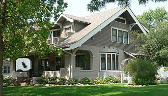 National Register of Historic Places listings in Lincoln County, South Dakota - Image: Dr. Andrew Anderson house from SE 1