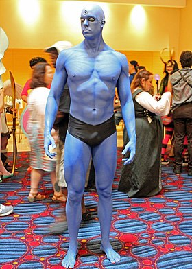 Cosplay de Dr Manhattan