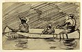 Drawing, Canoe with Three Men, probably 1897 (CH 18175107).jpg