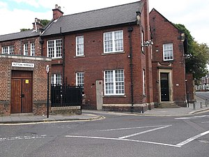 Hutton Terrace drill hall, Newcastle upon Tyne - Hutton Terrace drill hall, Newcastle upon Tyne