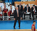 Dušan Ivković i srpska klupa Eurobasket 2013.jpg