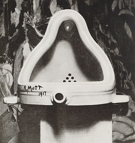 """Fountain,"" by Marcel Duchamp"