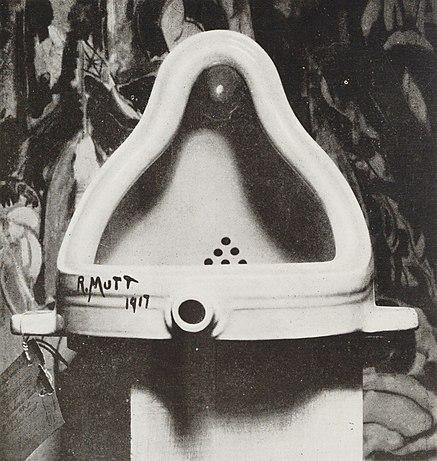"""""""Fountain,"""" by Marcel Duchamp"""