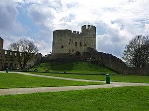 Dudley Castle, West Midlands, England.