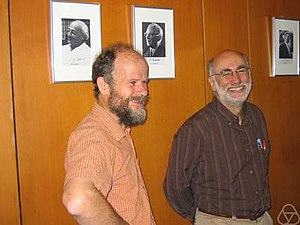 Dugald Macpherson - Dugald Macpherson (left)