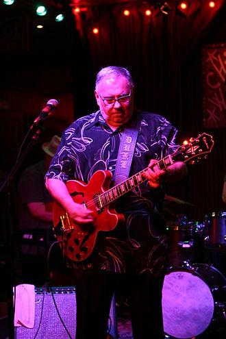 Duke Robillard - Duke Robillard performing in May 2012