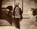 Duleep Singh by Dr Ernst Becker 1854 terrace at Osborne.png