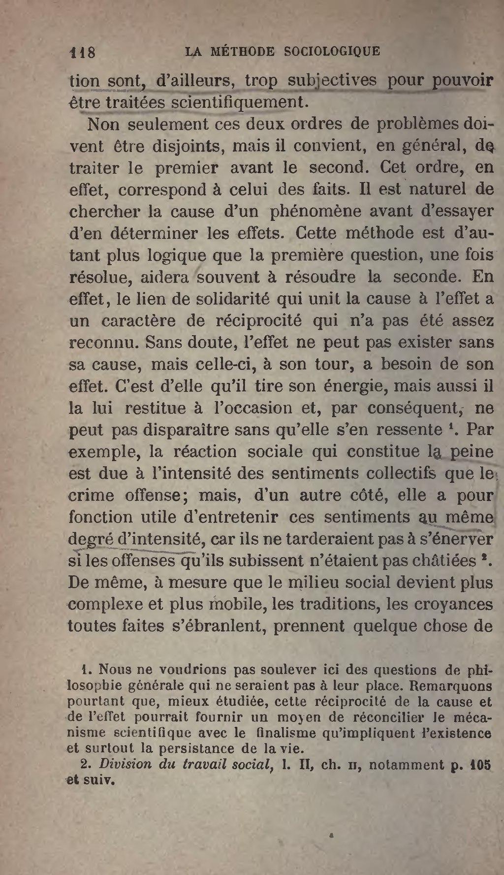 Page:Durkheim - Les Règles de la méthode sociologique.djvu ...