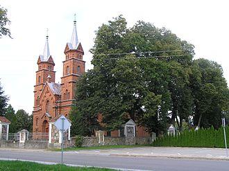 Dusetos - Church of Dusetos