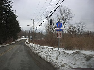 New York State Route 22 - Dutchess CR 81, a realigned section of NY 22