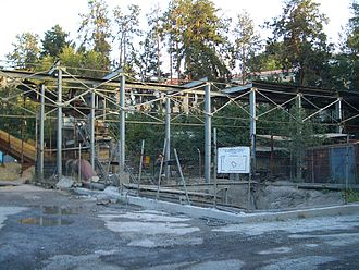 Almaty Metro - Construction of Abay Station, September 2007