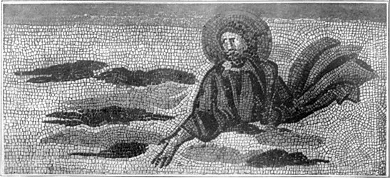 EB1911 Roman Art - Mosaic showing cloud and sky effects.jpg