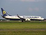 EI-EPD Ryanair Boeing 737-8AS(WL) landing at Schiphol (EHAM-AMS) runway 18R pic2.JPG