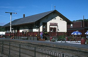 Valley Railroad (Connecticut) - The railroad's main station in Essex.