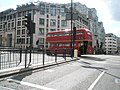 East London Routemaster heritage route 15 Ludgate Circus 13 April 2008.jpg