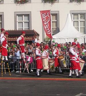 Day of the Walloon Region - Stiltwalkers in Namur
