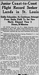 Eddie August Schneider (1911-1940) by the Associated Press in the Altoona Tribune of Altoona, Pennsylvania on 16 August 1930.jpg