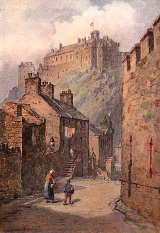 Edinburgh: Picturesque Notes - Image: Edinburgh, Robert Louis Stevenson, James Heron, Dj Vu pg 180