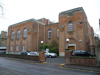 History of the Jews in Scotland - The Edinburgh Synagogue in the Newington district of the city