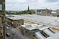Edinburgh Waverley Railway Station inc Market Street entrance from North Bridge.jpg