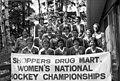 Edmonton Chimos Hockey Team, 1984 Shopper's Drug Mart Women's Champions (40261334722).jpg