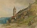 Eduard Peithner von Lichtenfels Blick auf Dürnstein 1885.jpg